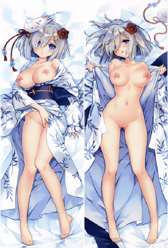 Anime Body Pillow Nude : anime, pillow, Naked, Heitai, Anime, Pillows, Adult, Coosfly, Medium