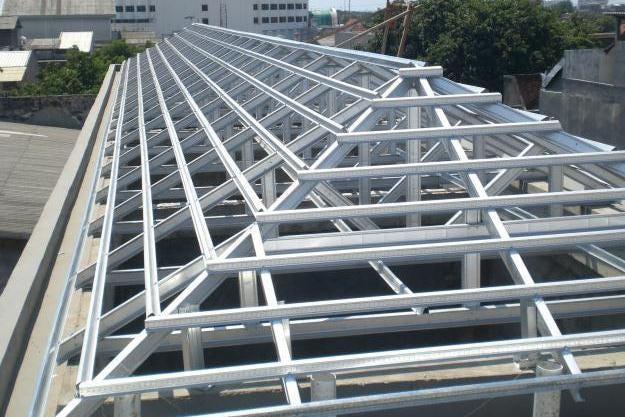 rangka atap baja ringan yang paling bagus 0896 5705 1747 jasa tukang pasang purwokerto