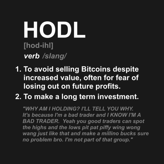ARE YOU HODLING WRONG?. To hodl or not to hodl that is the… | by Winco |  Good Audience