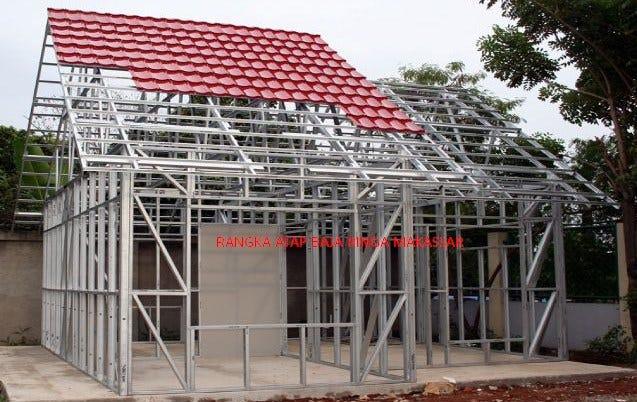 aplikator baja ringan nipa kota makassar sulawesi selatan wa o82129025565 tukang atap maros