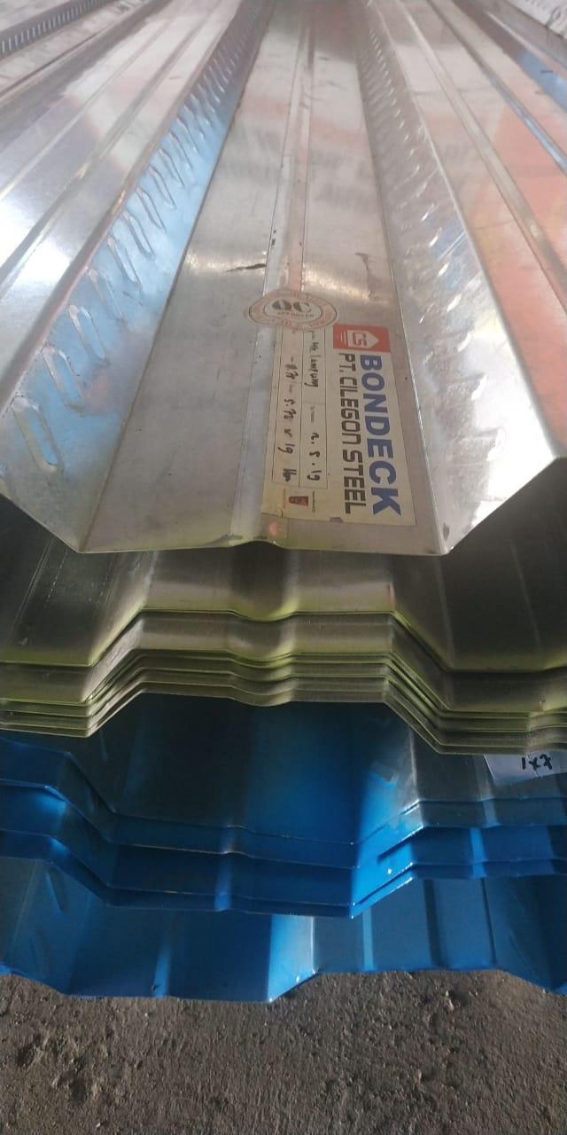 harga baja ringan per meter lampung bondek floor deck sakha beton indonesia