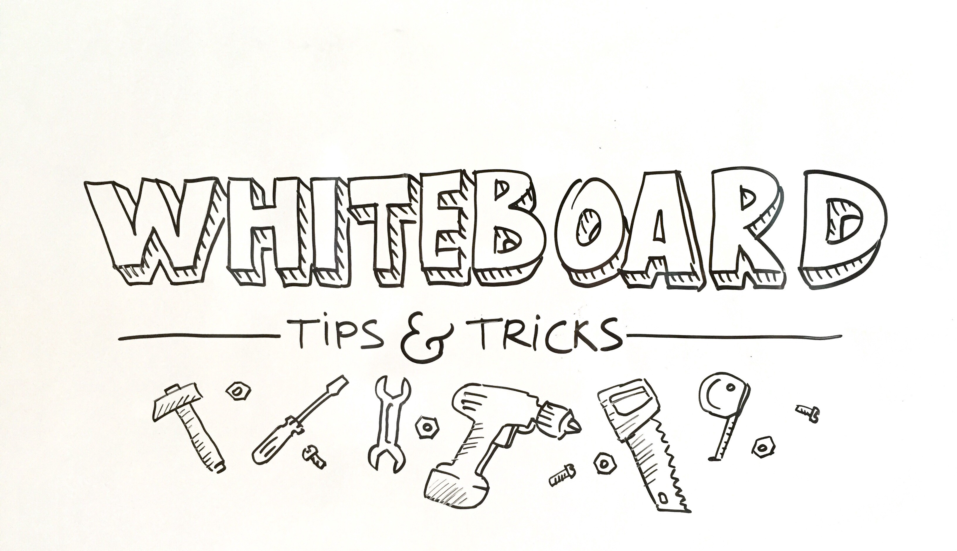 Whiteboard tips and tricks. Over the past several years I