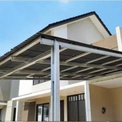 Contoh Atap Baja Ringan Rumah Minimalis Jasa Pasang Kanopi Di Semarang Aan Web Seo Medium