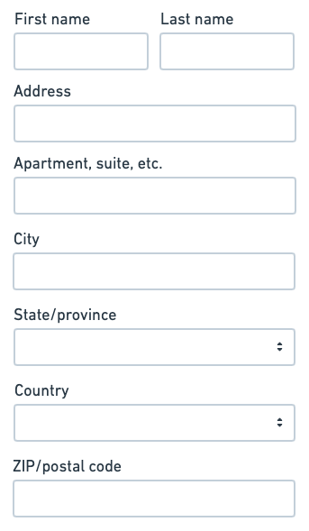 Designing Address Forms For Everyone