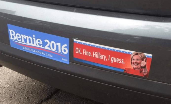 a bumper sticker 2017