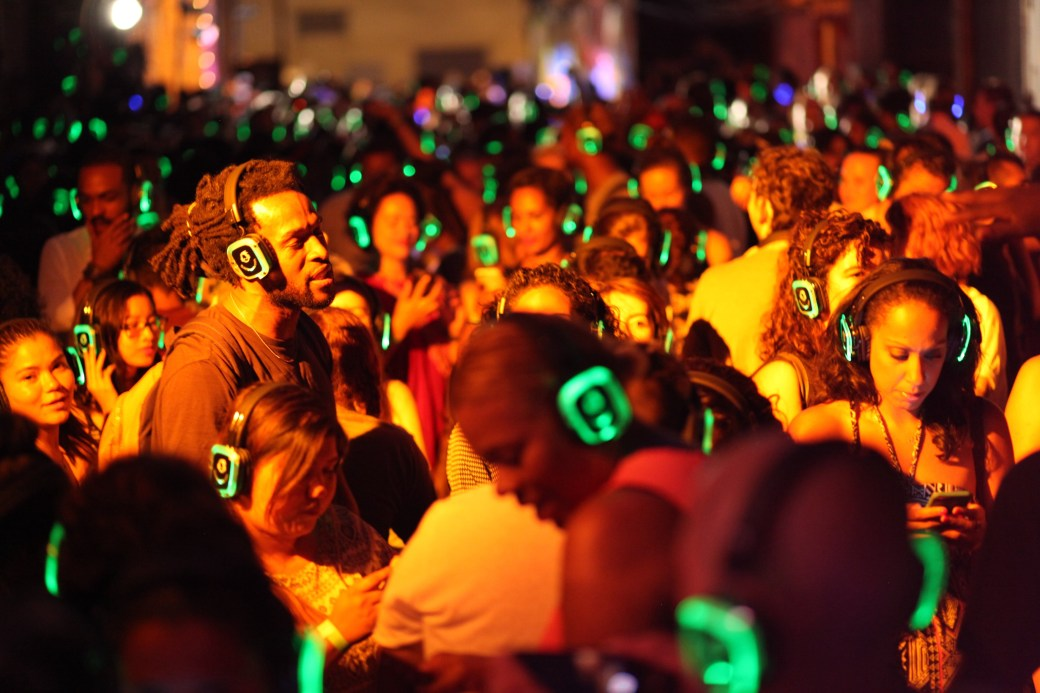Image result for silent disco