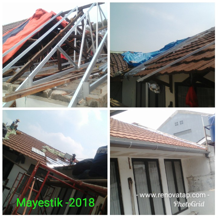 atap rumah baja ringan atau kayu perbandingan harga vs virgoaditama roof