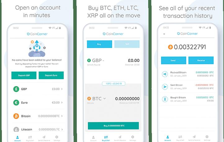 coincorner launches new app