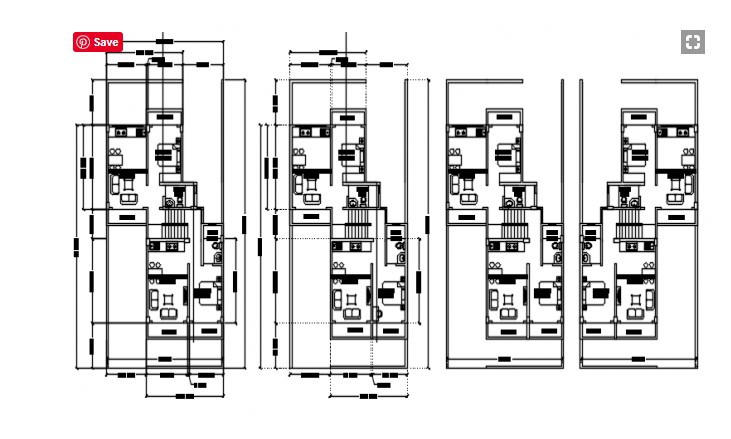 House Plan With Furniture In Dwg File By Cadbull Cadbull Medium
