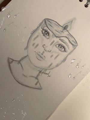 pencil easy sketch surrealism draw face way