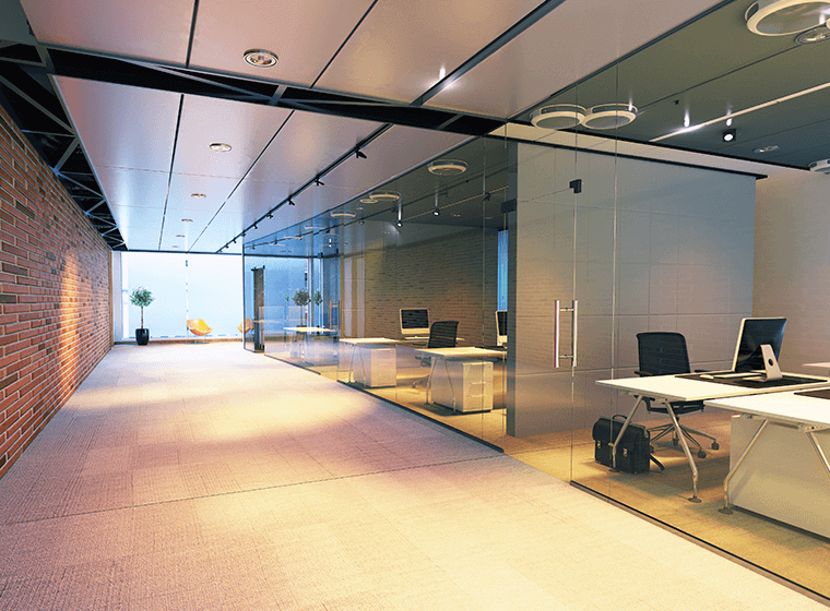 brighten an office with no windows