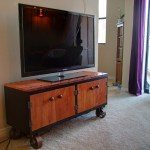 Diy Industrial Tv Stand Ikea Hack Step By Step By Philippe Berry Medium