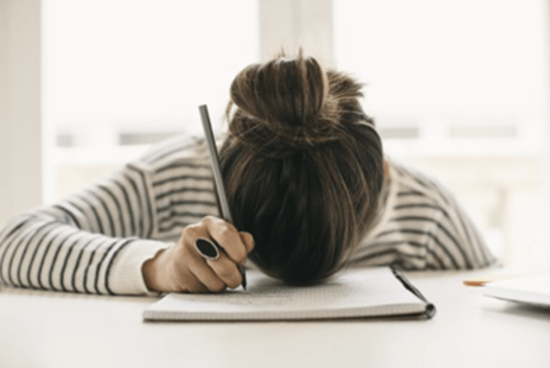 WRITING WHEN YOU FEEL STUCK