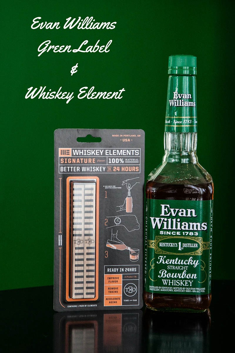 Evan Williams Green Vs Black : williams, green, black, Williams, Green, Label, Bourbon, Paired, Whiskey, Element, Lenny, Gotter