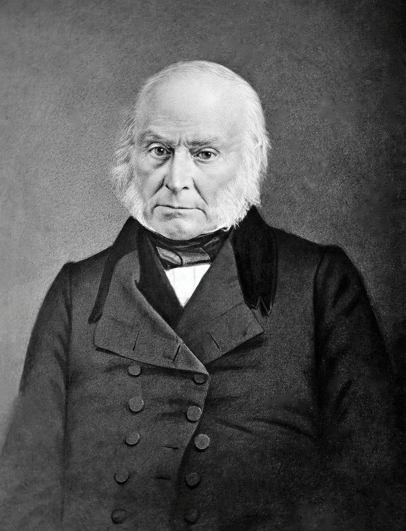 Retrato de John Quincy Adams
