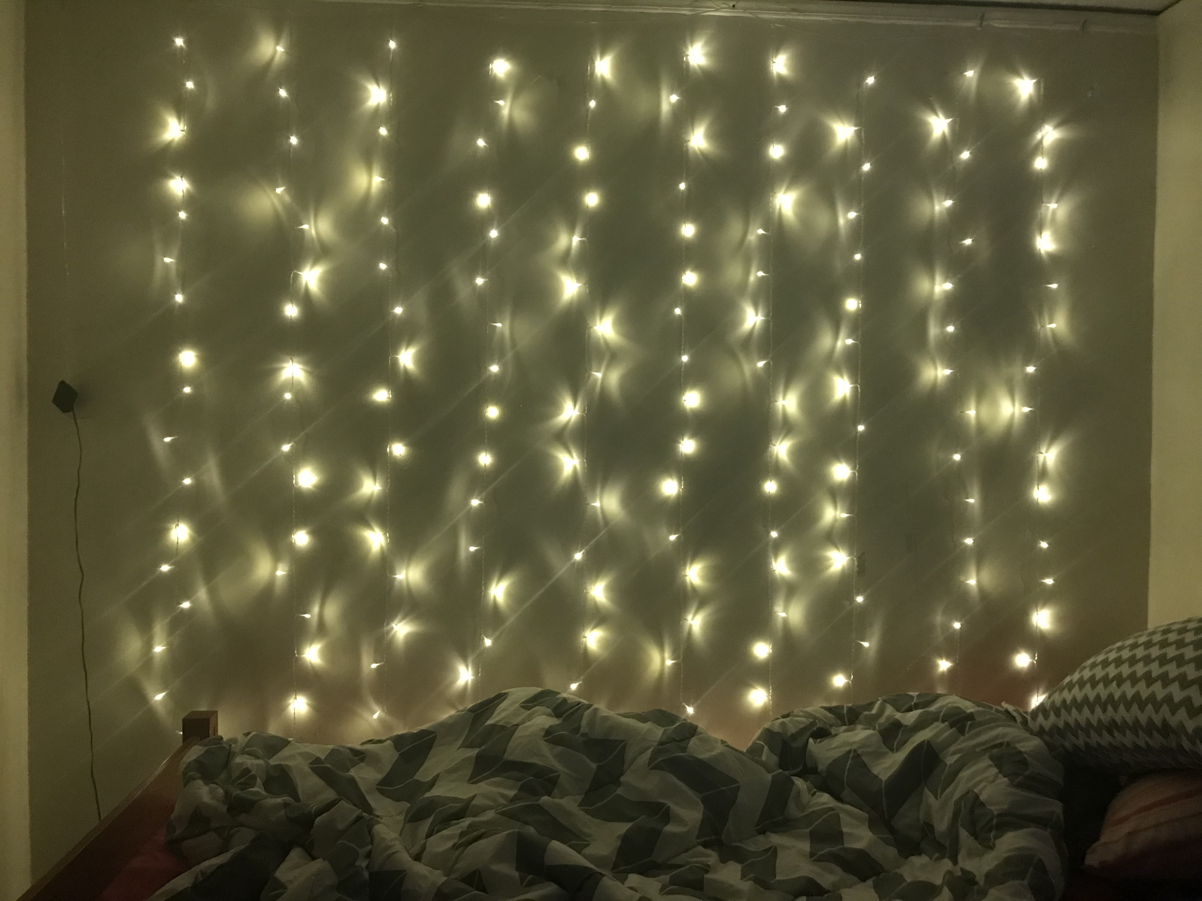 curtain lights critique decorating one