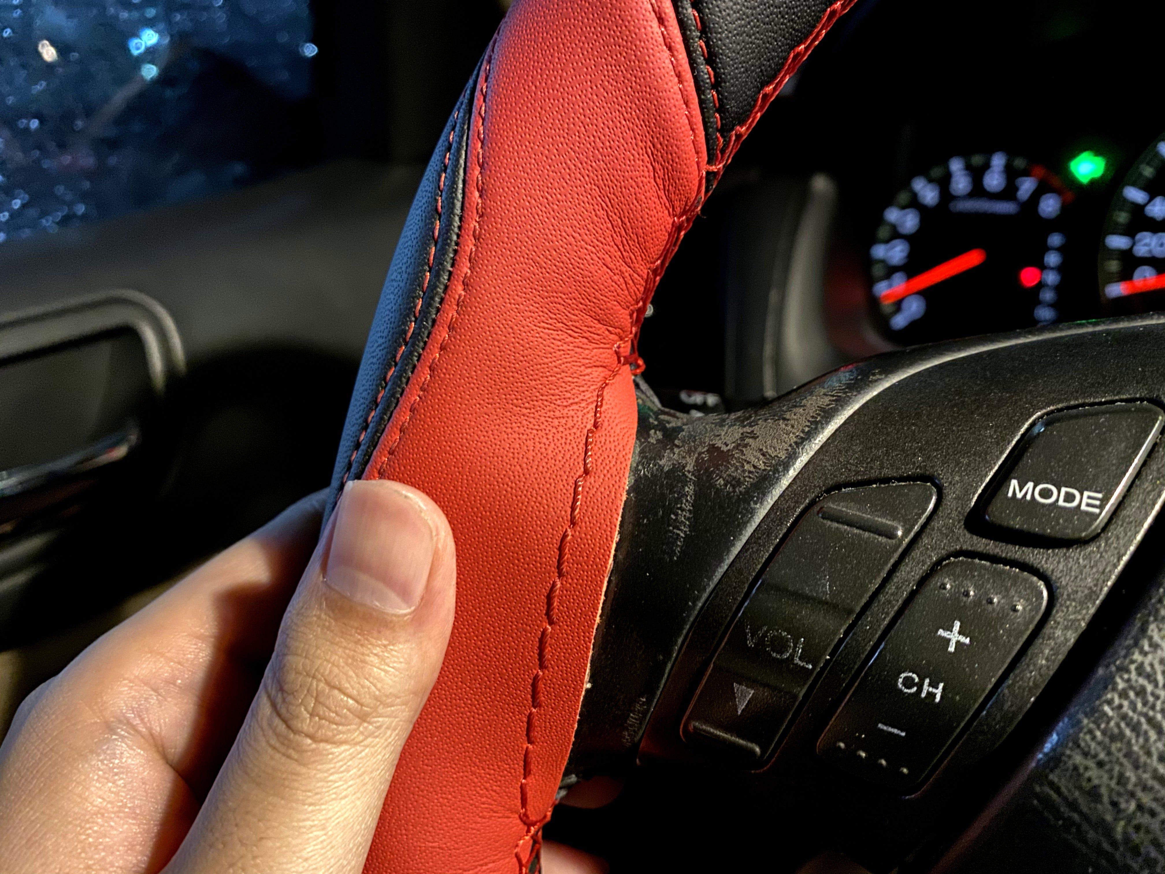 【小鍾幫你試|男士車房 Mr.Car Home 】新北中和區方向盤套手工縫製,別再買便宜方向盤套虐待自己的駕馭感受 ...