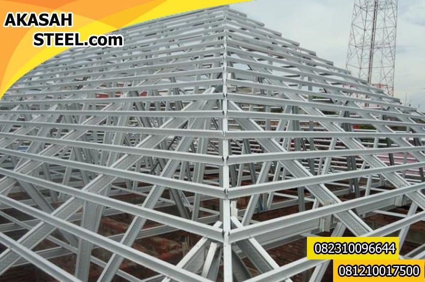 harga rangka baja ringan per meter persegi 082310096644 serpong jasa pemasangan atap murah