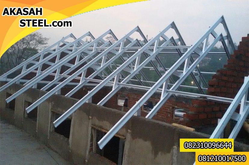 jasa pasang baja ringan karawang 082310096644 kronjo pemasangan rangka atap murah