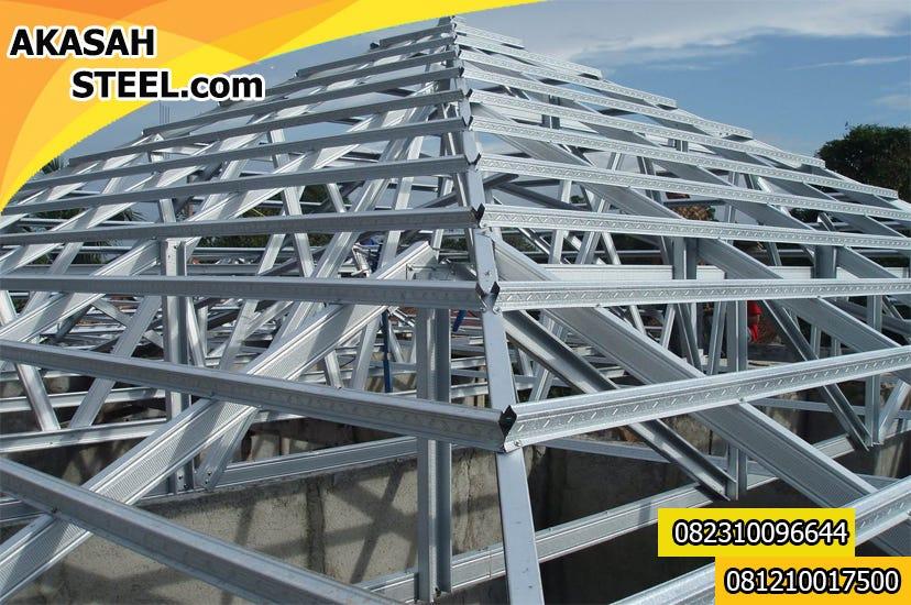 harga cnp baja ringan 1mm 082310096644 jasa pemasangan rangka atap murah berkualitas