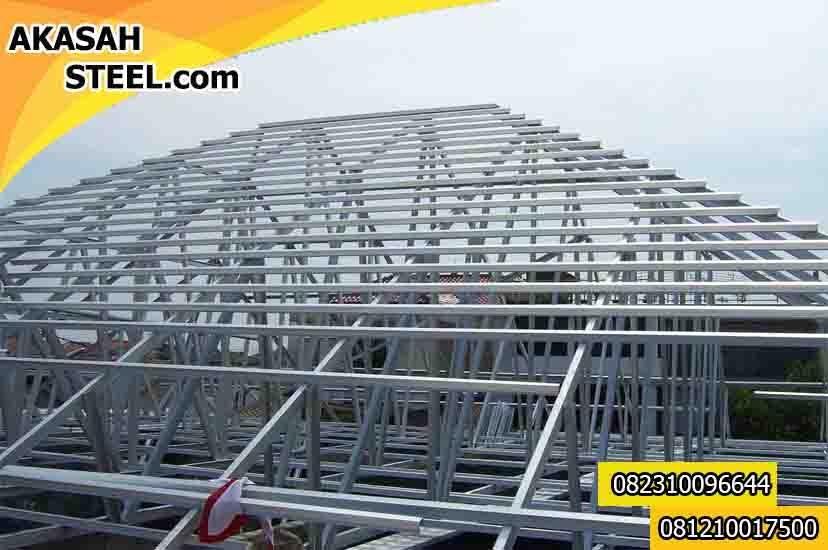 jasa pasang baja ringan karawang 082310096644 kresek pemasangan rangka atap murah