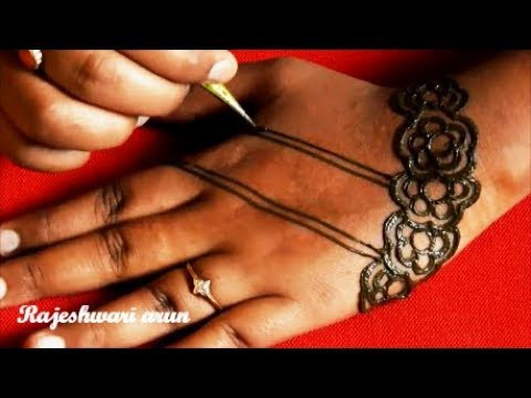 New Mehndi Design Arabic Simple