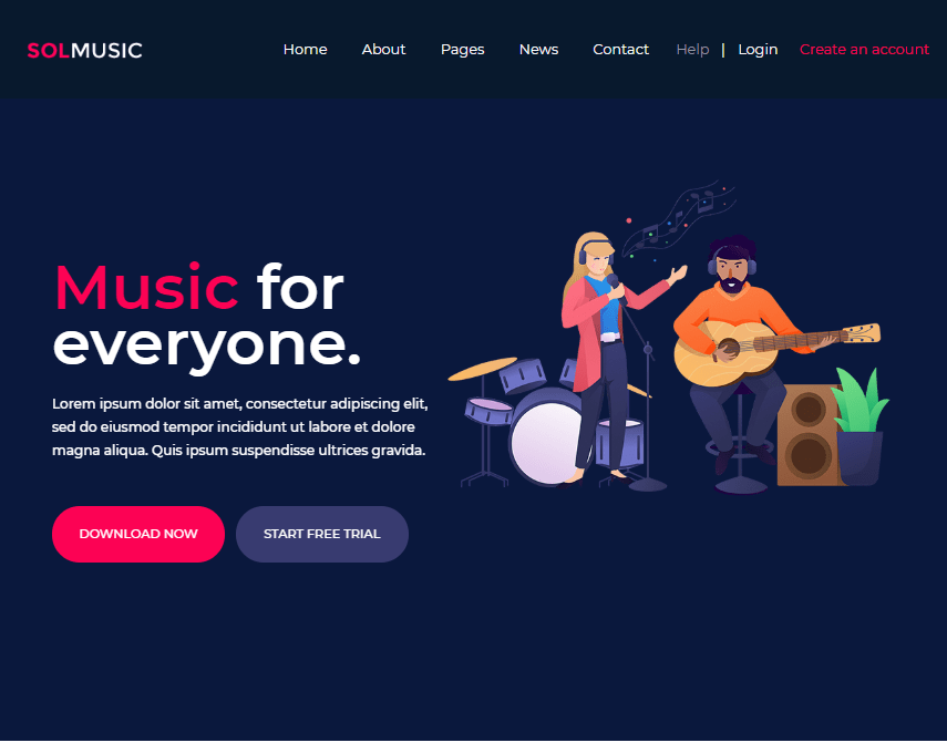 As you begin to learn to play the guitar, you want to find sheet music for the songs you want to play. 20 Rhythmic Free Music Web Templates By Jan Limark Medium