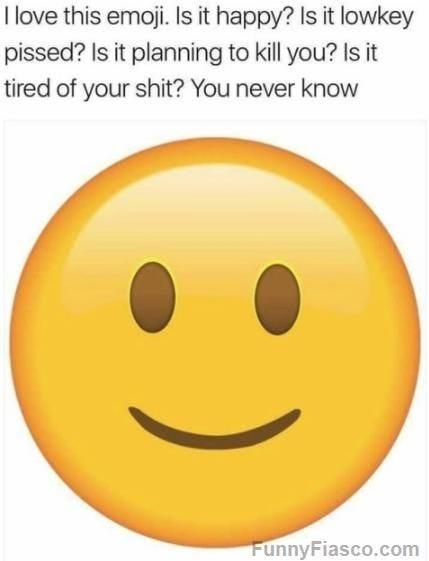 Smiling Face Meme : smiling, Slightly, Smiling, Emoji, Menacing, Alice, Corner, Medium
