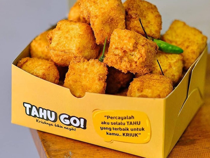 Viral Bisnis Tahu Go