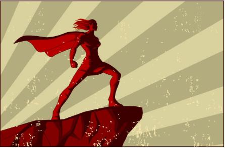 community - leasing agent super hero