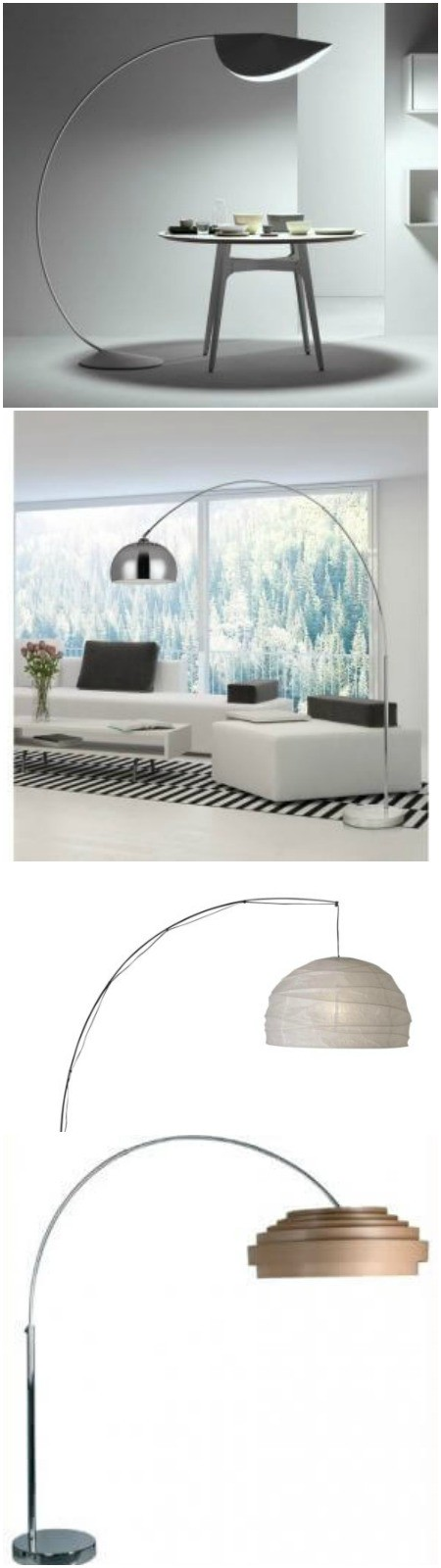 original arc floor lamps from ikea by