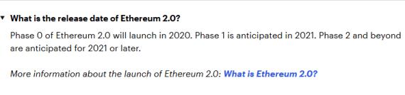 Ethereum 2.0 roadmap Ethereum 2.0 - senas naujas eteris