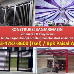 Jual Rangka Baja Ringan Banjarmasin Kanopi Kursus Internet Marketing