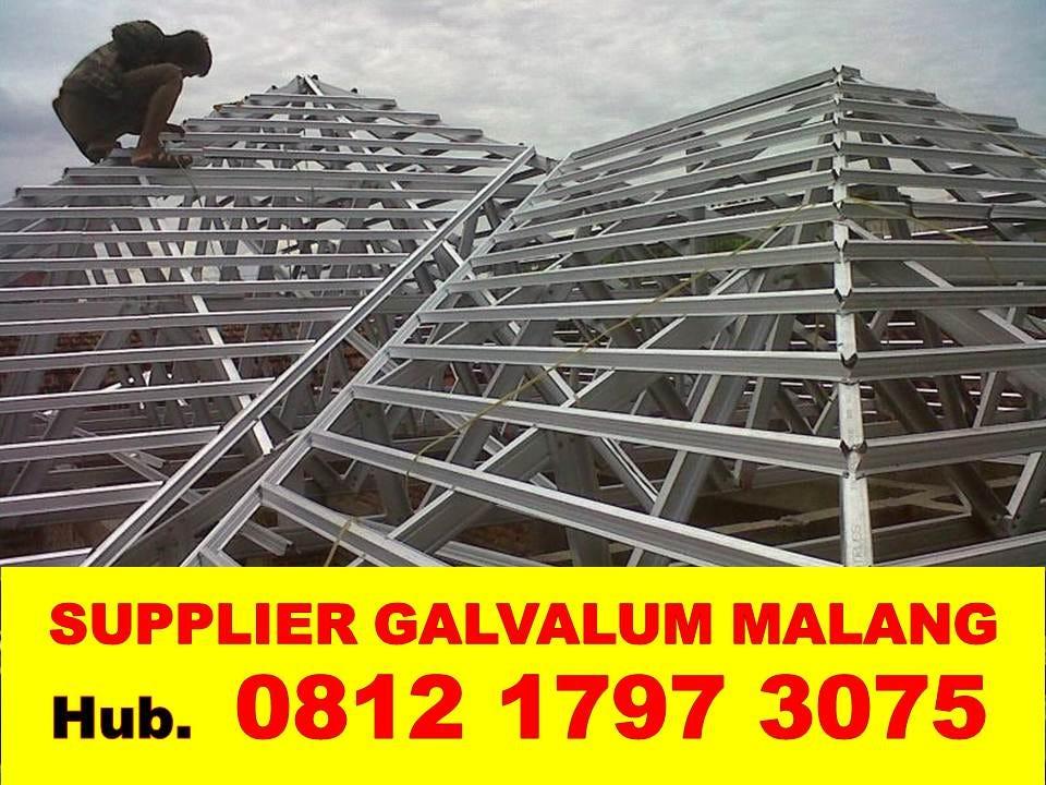harga rangka atap baja ringan di malang 082140302426 081217973075 jual murah daerah