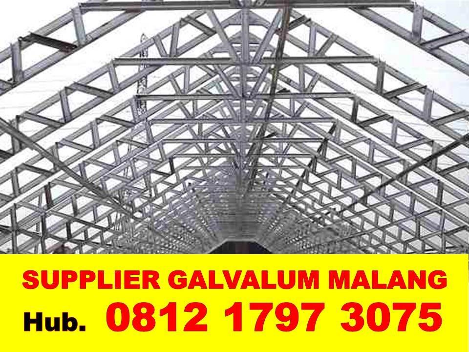 harga rangka atap baja ringan di malang 082140302426 081217973075 jual galvalum kencana dengan