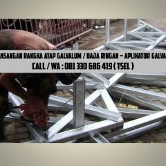 Harga Rangka Atap Baja Ringan Di Malang Call Wa 0822 348 60 166 Tsel Pasang