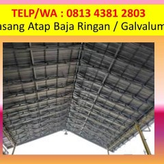 Pasang Baja Ringan Garut Telp Wa 0813 4381 2803 Atap Surabaya