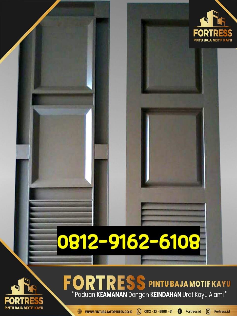 baja ringan in english 0812 9162 6109 fortress pintu garasi dari kayu