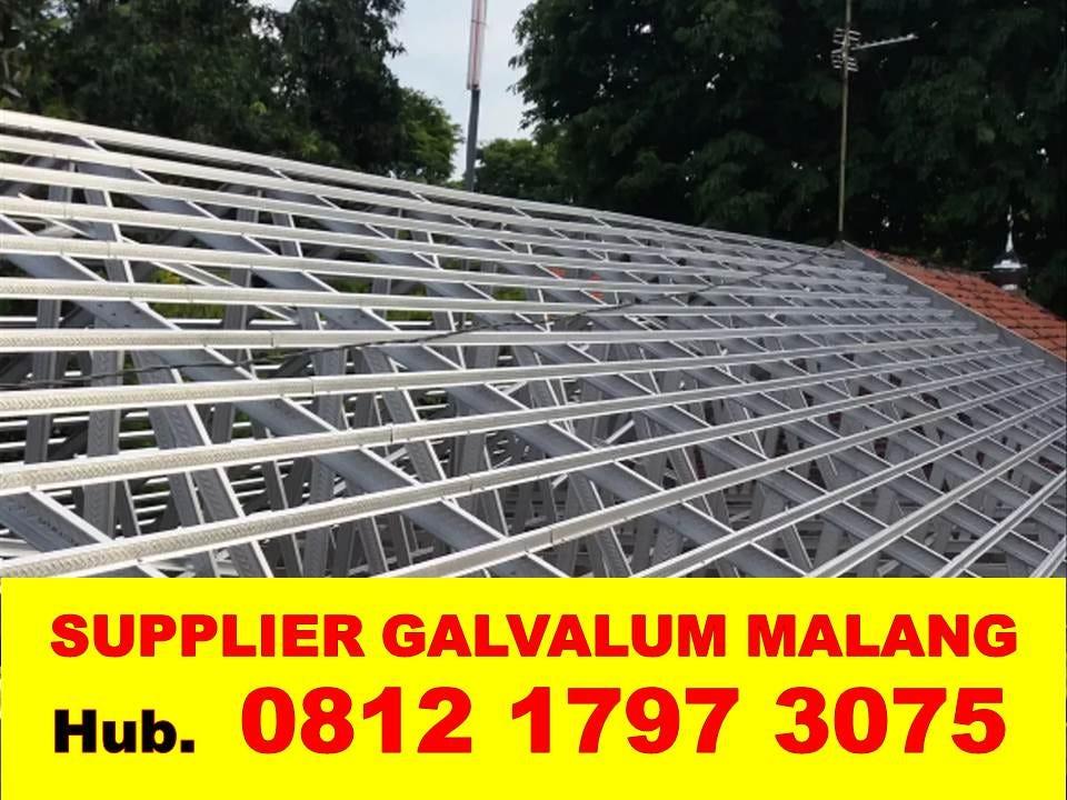 jarak reng baja ringan atap galvalum untuk rumah jual murah dan jasa renovasi