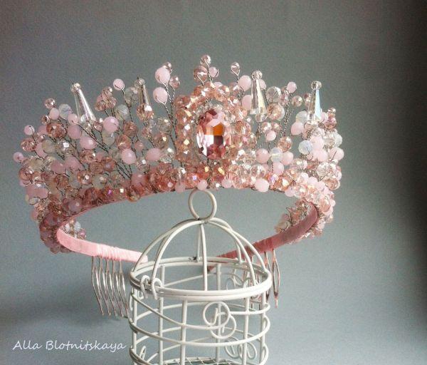 Pearl Tiara graduation crown Wedding Tiara Bridal Jewelry Bridal Crown Bridal Hair Accessories wedding