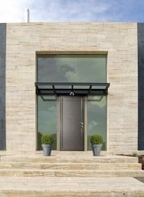 puerta casa moderna  --  Door of a modern house