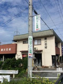 地図 篠田山交差点2