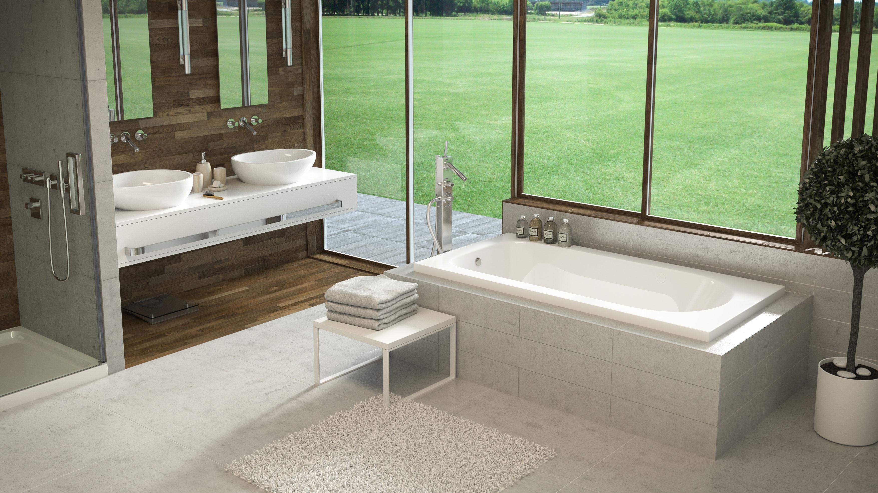 Fantastic Shallow Bathtub Embellishment - Custom Bathtubs ...