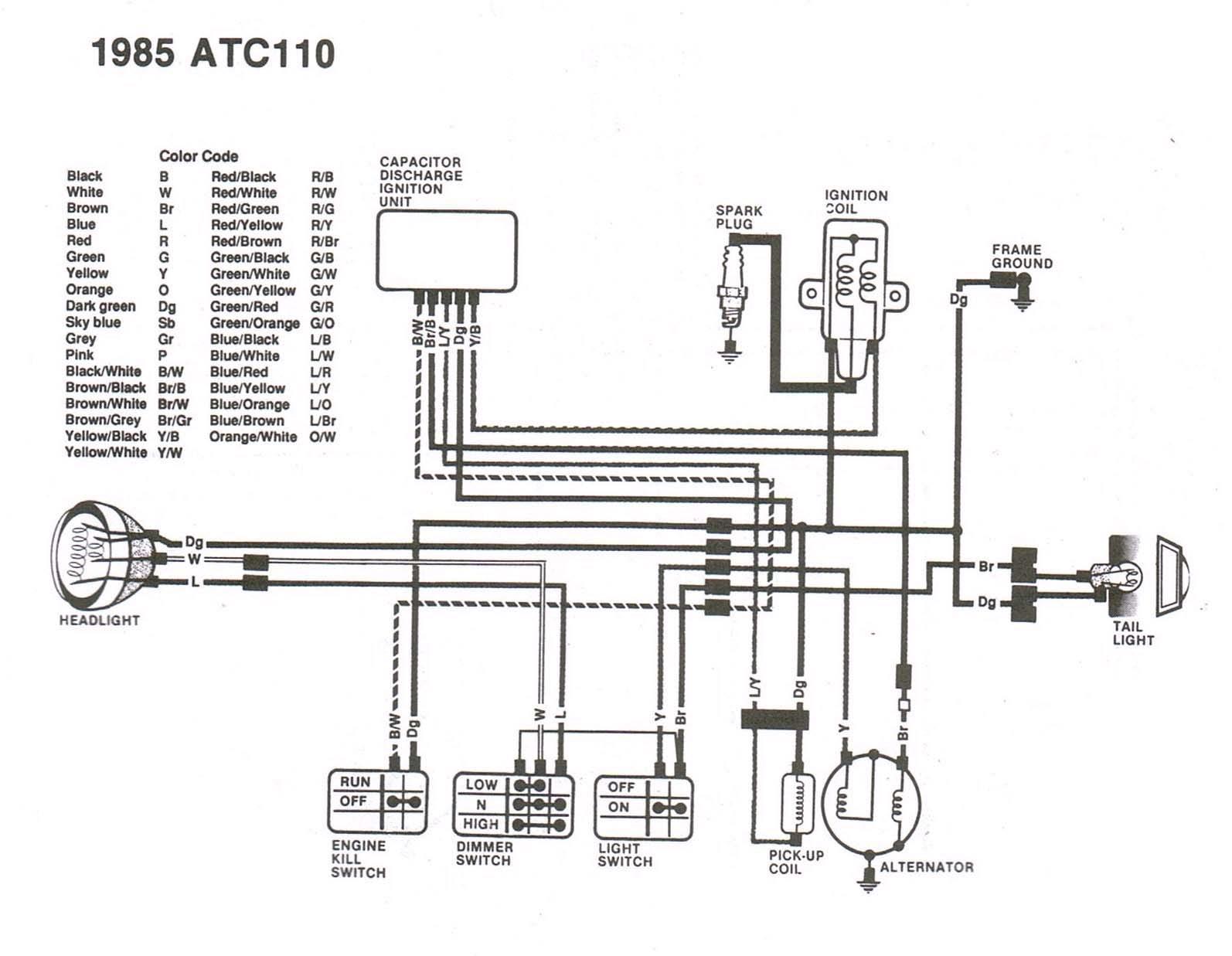 1973 Honda St90 Wiring Diagram