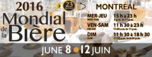 Mondial de la bière de Montréal   miron & cies