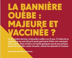 La bannière ouèbe : majeure et vaccinée ?   Grenier Mag