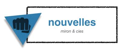 Des nouvelles de Normand Miron   miron & cies