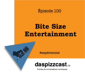 Episode 100 - Bite Size Entertainment | daspizzcast.ca