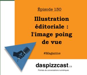 Illustration éditoriale - l'image poing de vue | daspizzcast.ca