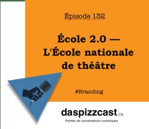 École 2.0 — L'École nationale de théâtre | daspizzcast.ca
